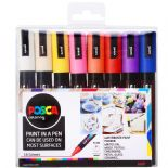 Posca 2.5mm PC-5M Medium tip Marker 16 Piece Set